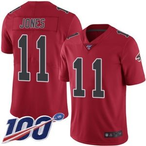 Mens Falcons Julio Jones 100th Season Jerseys